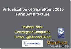 SharePointVirtualization