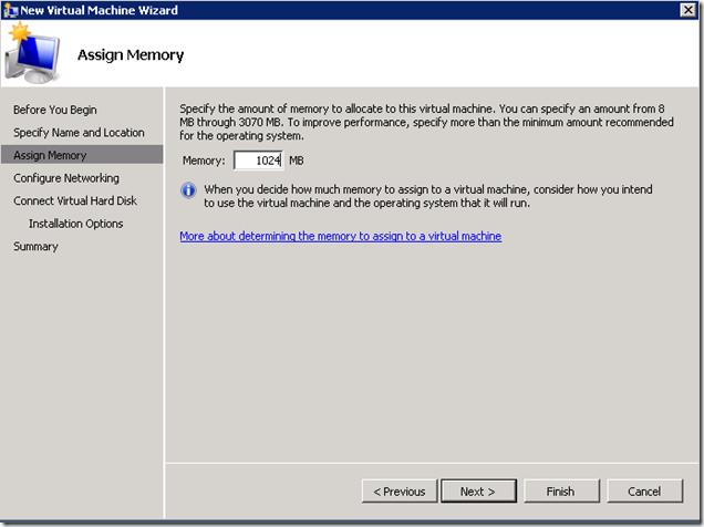 Assign-Memory-HyperV