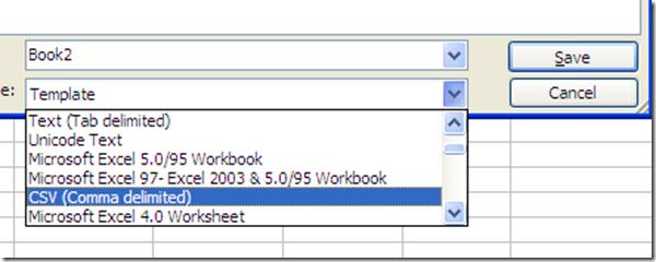 Saving CSV file for Moodle User Upload