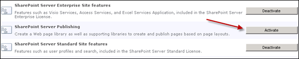 activate_sharepoint_2010_server_publishing