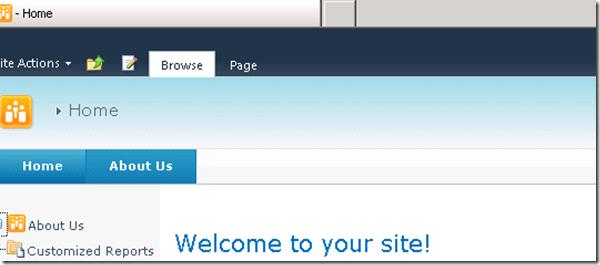 Custom SharePoint 2010 Global Navigation