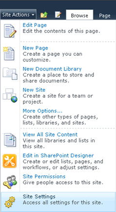 To Restrict SharePoint Designer Access In SharePoint 2010 - Step-1