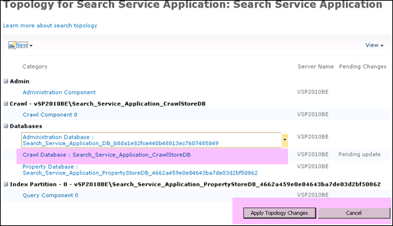 renaming_search_service_applicaiton_crawlstoreDB_sharepoint_2010