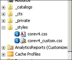 Custom CoreV4.CSS in SharePoint 2010