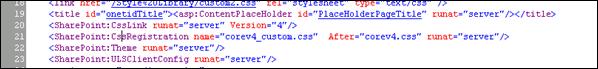 """SharePoint:CssLink runat=""""server"""