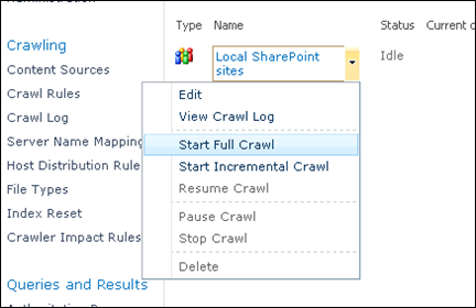Enable People Search in SharePoint 2010 - Step 6