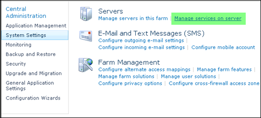 Importing User profile to SharePoint 2010 - Step 2