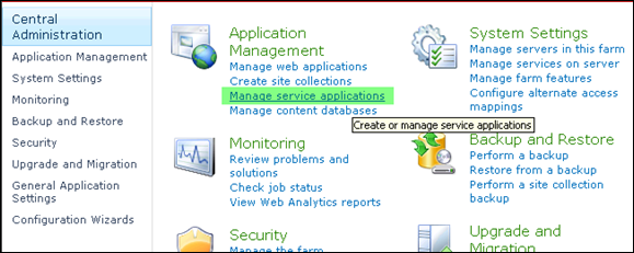 Importing User profile to SharePoint 2010 - Step 7