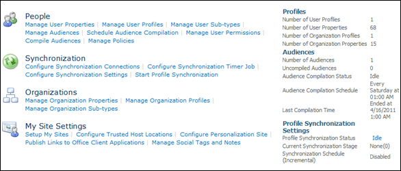 Configure Synchronization Connections in SharePoint 2010