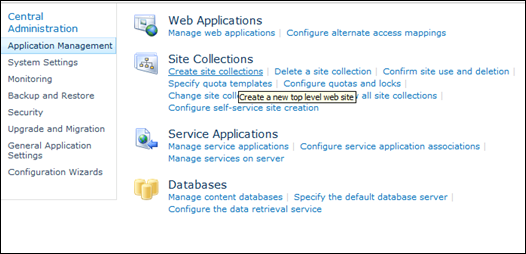 Create My Site in SharePoint 2010 to Host Site Collection