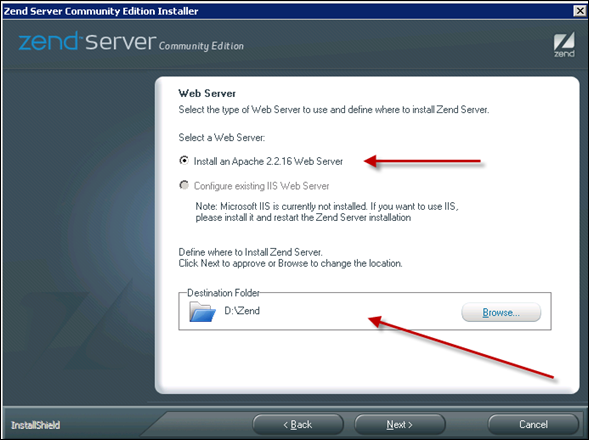 Installing an Apache Web Server in Windows 2008 Server
