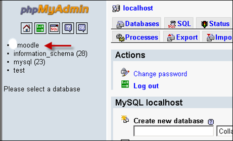 how to create database in phpmyadmin godaddy