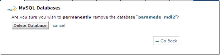 delete-database-mysql