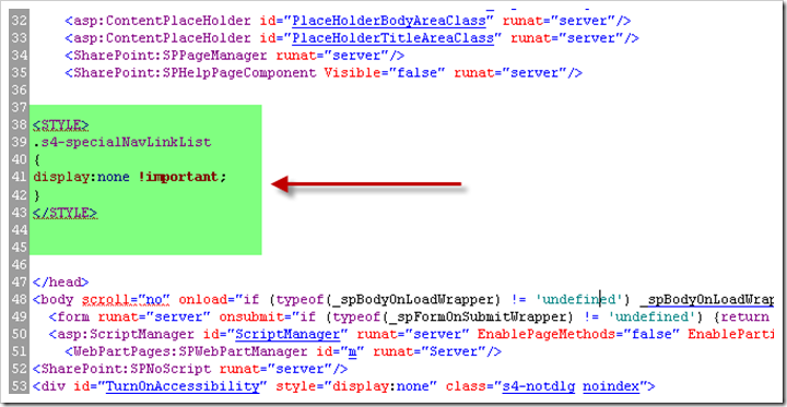 CSS code to Hide Recycle Bin in SharePoint 2010