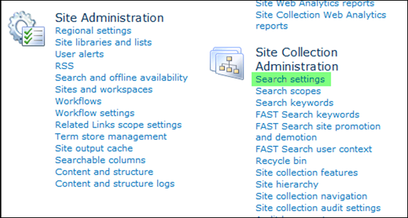 Enable Search Scope in SharePoint 2010