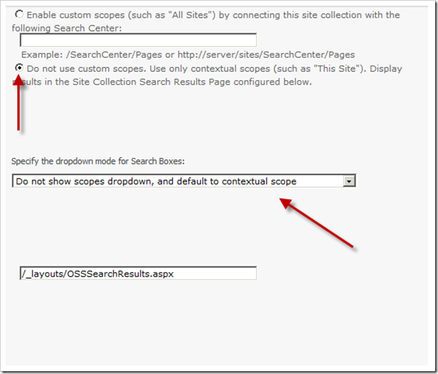 """Enable Custom Scopes (such as """"All Sites"""")"""