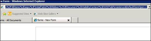 Redirect InfoPath Form 2010 Users
