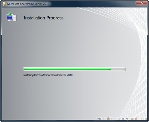 Installing SharePoint 2010 in Windows 7
