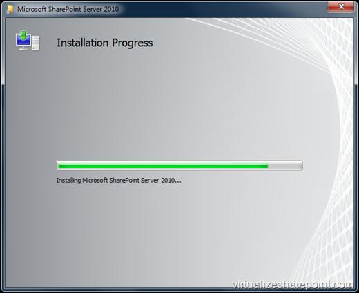 Installing SharePoint 2010 in Windows 7
