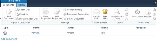 InfoPath 2010 Form Redirect Users