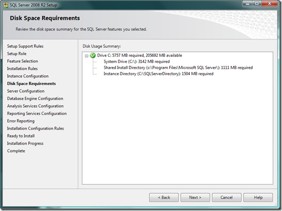 SQL_Server_2008_R2_Setup_DiskSpaceRequirement