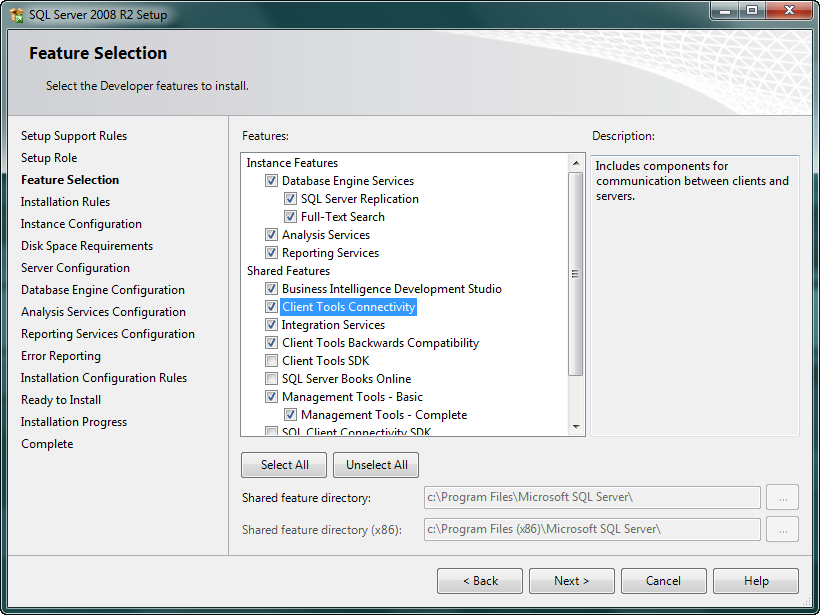 How to un-install sql server 2008 analysis service only ...