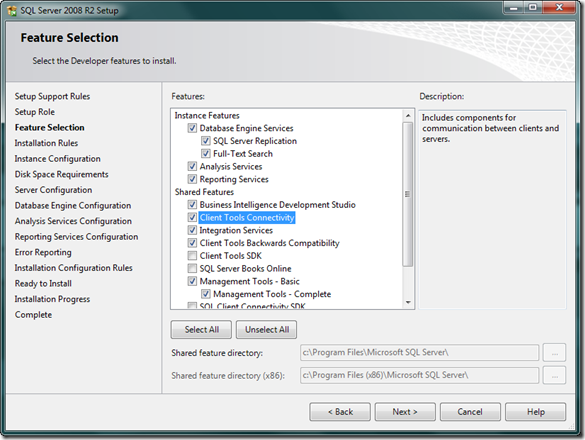 SQL_Server_2008_R2_Setup_Feature_Selection