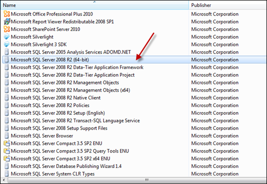 Uninstall SQL Server 2008 from Windows