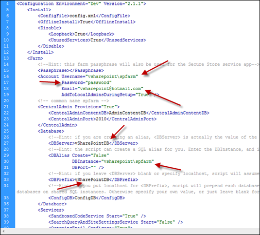 ShaerPoint 2010 Auto Installer Script