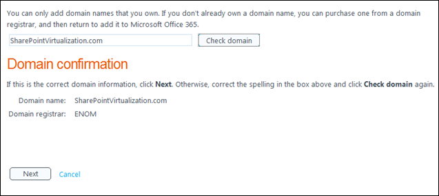 Check-Domain-Name-For-SharePoint-Online