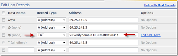 sharepoint_online_DNS_record_for_enom-