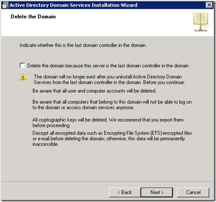 uninstalling-active-directory-from-windows-2008-server-step-3
