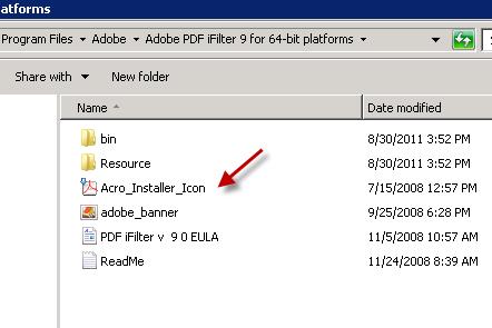 adobe pdf ifilter