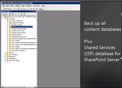 Database attach upgrade with read-only databases to SharePoint 2010