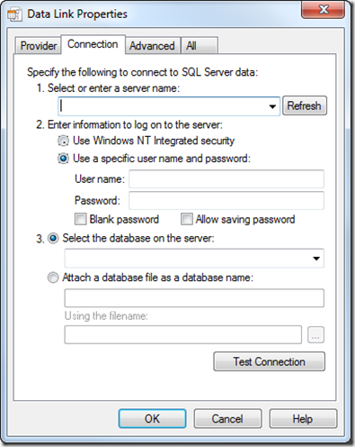 test-sql-connection