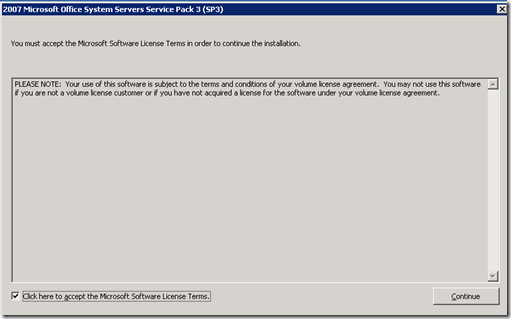 Office System Servers Service Pack 3