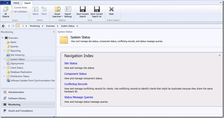 System-Center-Configuration-Manager- monitoring