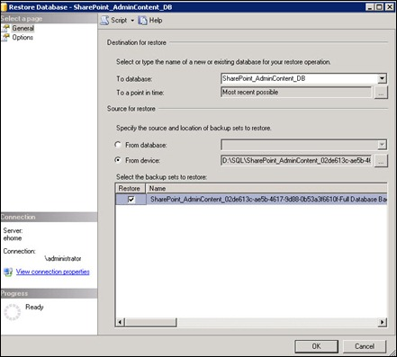 restore_sharepoint_central_admin_database_without_guid