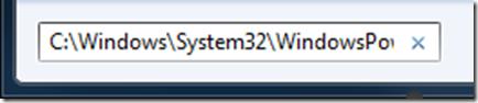 Open powershell script editor in Windows 7