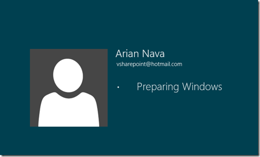 Preparing Windows 8 Screen