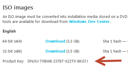 how to get the product key from iso windows8