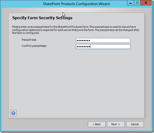 SharePoint 2013 Farm Security Settings