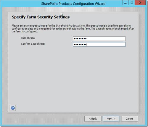 SharePoint 2013 Farm Security Settings