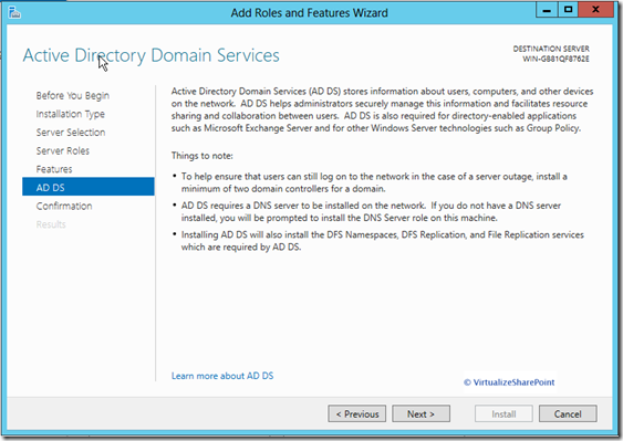 active-directory 2012 -domain-services-
