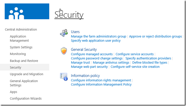 SharePoint 2013 Security