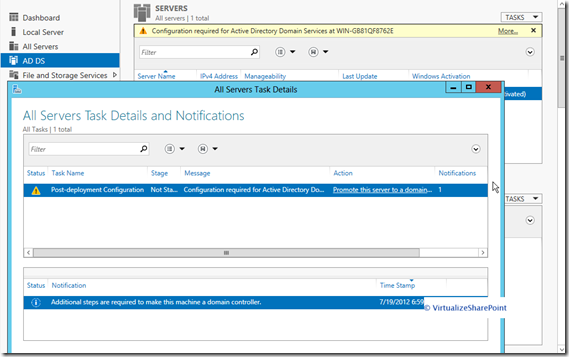 Active Directory 2012 Installation -promote-this-server-to-domain
