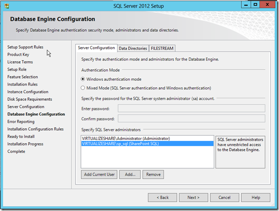 SQL-Server-Installation-Database-Engine-Configuration-12