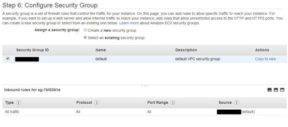 AWS - Security Group