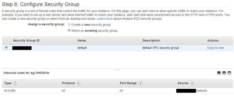 AWS - Security Group