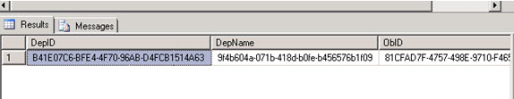 GuidID-Delete-Project-Server-Database